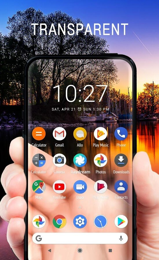 Download Transparent Screen Live Wallpaper 1.1.6 for Android