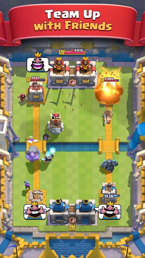 دانلود بازی clash royale